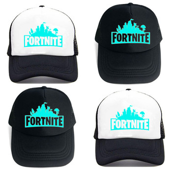 Fortnites Luminous Cap Cool Party Toy Gift Adjustable Night Glow Hats Birthday Accessories Baseball Cap Cartoon Breathable Cap 1