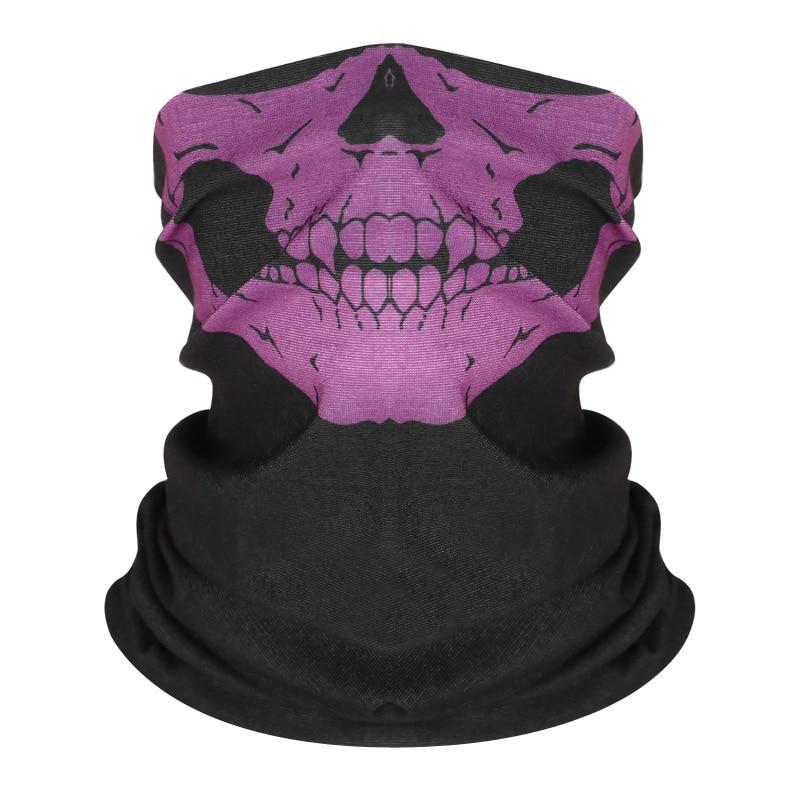 Fashion Bandana Face Mask Dropshipping Face Scarf Cloth Mask  Skull  Washable Riding Magic Scarf Windproof Mouth Face Mask