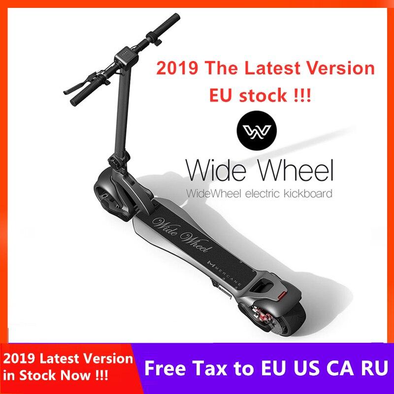 EU Stock 2019 plus récent 48V 1000W Mercane WideWheel Scooter électrique 45 KM/H pliable large roue Kickscooter double moteur Skateboard