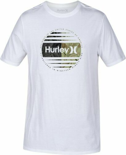 Hurley Men's Global Graphic-Print T-Shirt M-3XL US 100% Cotton Men's Trend 2019