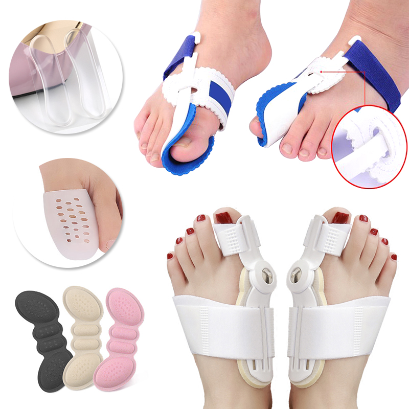 Bunion Corrector Valgus Protector Toe Separator For Pedicure Foot Care Tools Thumb Straightener Hallux Valgus Bunion Correction