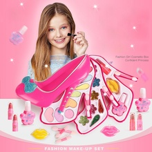 22Pcs Princess Cosmetic Set Non-toxic Children Cute Beauty Makeup Toy For Birthday Gift Stage Performance Confident