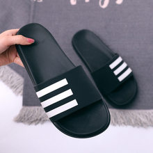 Peep Toe Environmentally Women Flat Slippers Piano Keys Indoor and Outdoor Unisex Slippers Summer Women Slides(China)