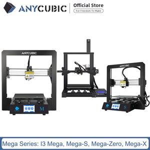 ANYCUBIC Mega S 3D Printer I3 Mega Series Upgrade DIY Full Metal frame Impresora 3D Drucker High Precision(China)