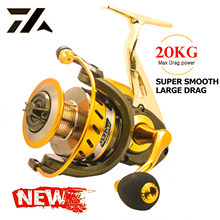 2021 New All-Metal Fishing Reel Super Smooth Spinning Reel Carp Reel Sea Pole Long Cast Round Sea Pole Round Fishing Accessories