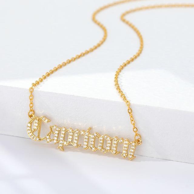 12 Zodiac Necklaces Choker  5