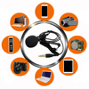 1.5m Omnidirectional Condenser Microphone for Recorder for iphone 6S 7 Ppus Xiaomi Mobile phone pad DLSR Camera Uncategorized
