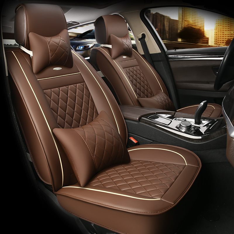 HLFNTF Leather Car Seat Covers For <font><b>Lexus</b></font> All Models GX460 <font><b>GX470</b></font> GX400 car <font><b>accessories</b></font> car-styling image