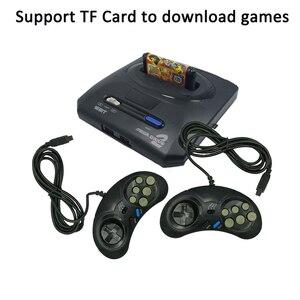 For Original Sega MegaDrive MD2 Mini TV Video Game Console Joystick 16 Bit AV output Double Wired Gamepads Controller Dropshipp