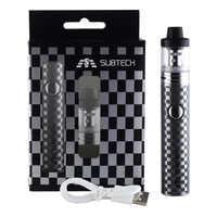 Original s22 60 w vape kit controle de fluxo ar 1800mah bateria 2.0ml vape tanque atomizador cigarro eletrônico caneta vaporizador kit