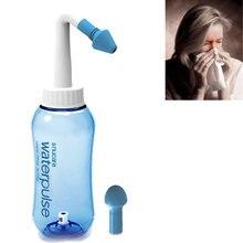 300ml Nasal Wash Neti Pot Sachets Sinus Nose Cleaner Bottle Nasal Irrigator Wash