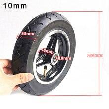 10 pouces 10mm portant la roue gonflable de Scooter électrique 10X2.125 remplacement de moyeu de roue de pneu intérieur et extérieur