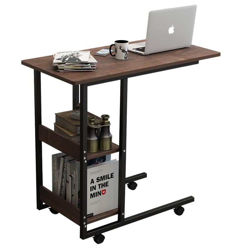 Bedside Table Simple Laptop Desk Removable Small Table Home Lazy Bed Desk Bedroom Bedside Table
