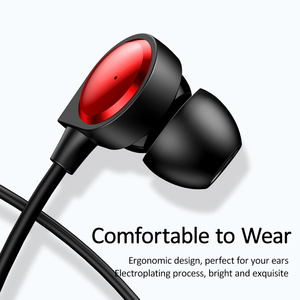 Image 2 - USAMS douszne słuchawki 3.5mm metalowe Hifi przewodowy zestaw słuchawkowy z mikrofonem Stereo przewodowe słuchawki douszne z mikrofonem zestaw słuchawkowy do iphonea Huawei xiaomi