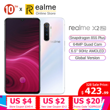 In Stock Global Version Realme X2 Pro Snapdragon 855 Plus Mobile Phone 8GB 128GB