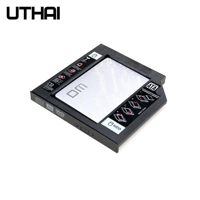 UTHAI T02 CD-ROM jazdy SSD dysk twardy Caddy laptopa obudowa 2.5 cal SATA I II III dysk HDD 9.5 mm/8.9mm/9.0mm SATA3