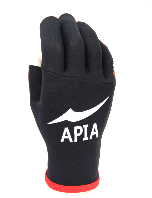 Japan's APIA Fishing Gloves Three Fingers Waterproof Sun Protection Outdoor Sports Keep Warm The Inner Coated Titanium