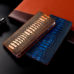 Genuine Leather Case For Xiaomi Redmi Note 2 3 4 5 6 7 8 8T 9 9S Pro Max K20 K30 Pro S2 Go Flip Wallet Phone Cover