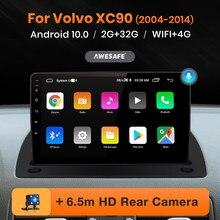 AWESAFE PX9 para Volvo XC90 2004 - 2014 auto Radio Multimedia reproductor de Video GPS de navegación No 2 din 2din DVD Android 10