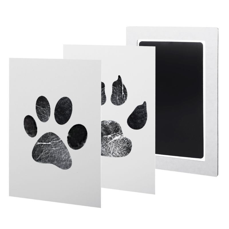 1Set Baby Handprint And Footprint Ink Pads Paw Print Ink Kits For Babies And Pets E65D