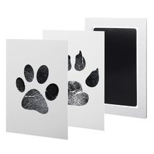 Get more info on the 1Set Baby Handprint And Footprint Ink Pads Paw Print Ink Kits For Babies And Pets E65D