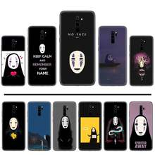 No Face man Spirited Away cartoon original Unique Design Phone Cover For Xiaomi Redmi Note 4 4x 5 6 7 8 pro S2 PLUS 6A PRO(China)