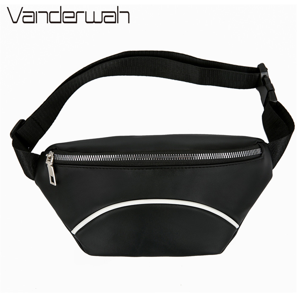 2020 Newest Hot Women Waist Packs PU Leather Fanny Pack Belt Bags Fashion Chest Pouch Travel Hip Bum Bag Lady Small Purse