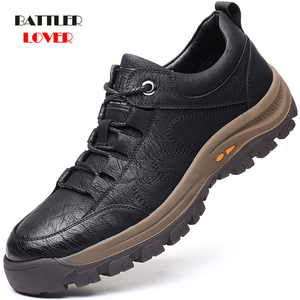 Men Fashion Casual Shoes Genuine Cow Leather Handmade Breathable Shoes for Male Luxury Brand Loafers Moccasins Adult Footwear
