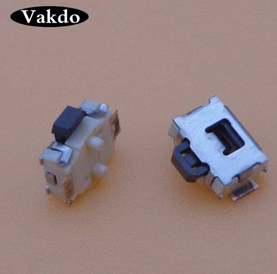 5-300pcs/lot Power button for <font><b>Nokia</b></font> 5800 N81 <font><b>6300</b></font> 2P SMD switch <font><b>Phone</b></font> High quality Plate type switch On Off Volume Inside Key image