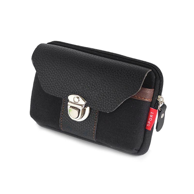 Outdoor Sports Zipper Bag Tactical Molle Pouch Belt Waist Bag Mobile Phone Bag