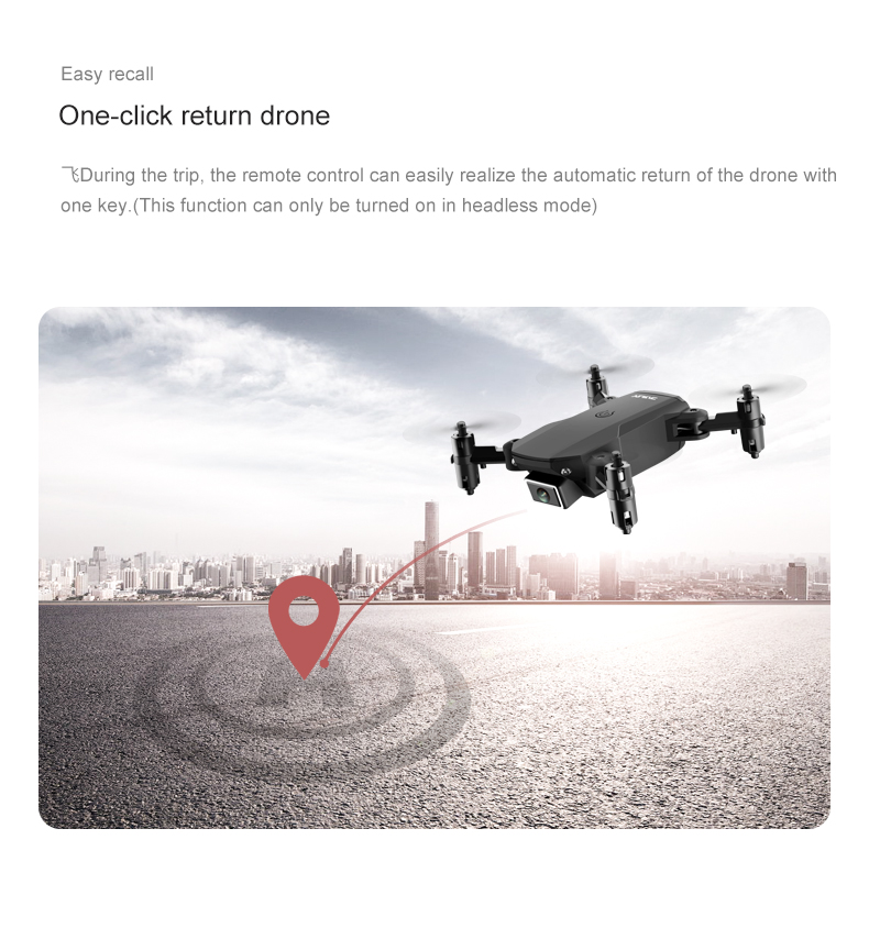 cheapest Luggage Mini Drone Fixed Height Setting 250 Mah Aerial Photography Video Function Shooting In The Distance