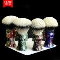 Brocha OUMO-2019/9/17 brocha de afeitar TITAN Art con SHD HMW puntas plateadas Manchuria mejores 2 bandas gel city 30MM