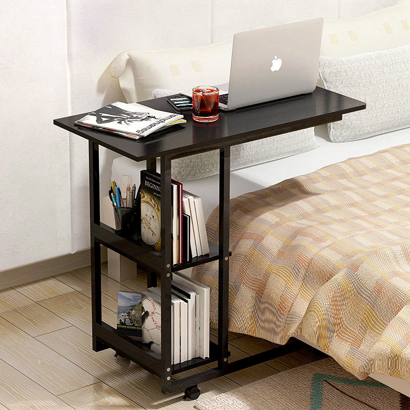 Adjustable Computer Desk Bed Learning With Household Folding Mobile Bedside Table Home Writing Table