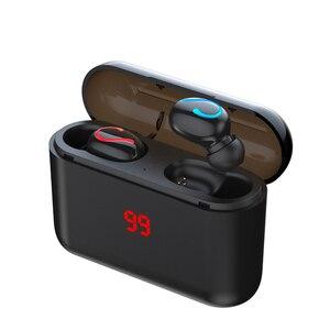 Image 1 - HBQ Q32 Bluetooth Không Dây 5.0 TWS Tay Nghe Tai Nghe Nhạc Thể Thao Tai Nghe Nhét Tai Chơi Game Điện Ngân Hàng