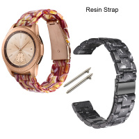 22mm Bracelet Watchband For Samsung Gear Classic S3 Frontier Galaxy Watch 46mm Watchstrap Smartwatch Resin Straps Replace New