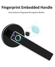 WAFU Electric Door Lock Biometric Fingerprint Smart Keyless Security