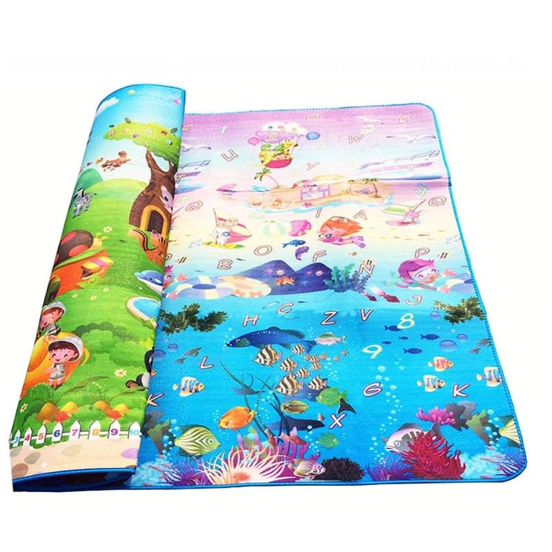 bebe ramper tapis face motif animal ocean 2 1 8m bebe tapis de jeu bebe tapis sol doux enfants bebe tapis de jeu exterieur tapis enfant
