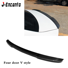 For Audi A5 Double/Four door hard top S5/V/M4/R style Spoiler Carbon Fiber Material wings Rear spoiler 2010-2016
