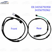Front+Rear Brake Pad Sensor 34356791958+34356791962 for BMW F10 F11 F12 F13 528I 535I 550I 640I Induction Wire Replacement