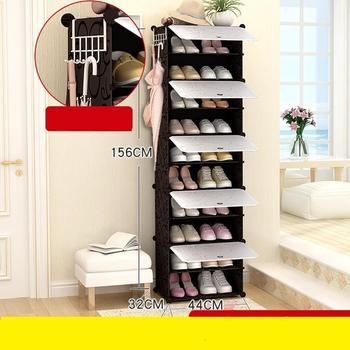 El Hogar Zapatero Organizador De Zapato Zapatera Schoenenkast De gabinete De Rack Mueble muebles Mueble Chaussure De almacenamiento