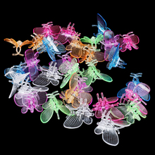 30Pcs Cute Butterfly Orchid Clips Plant Clips Garden Flower Vine Support Clips