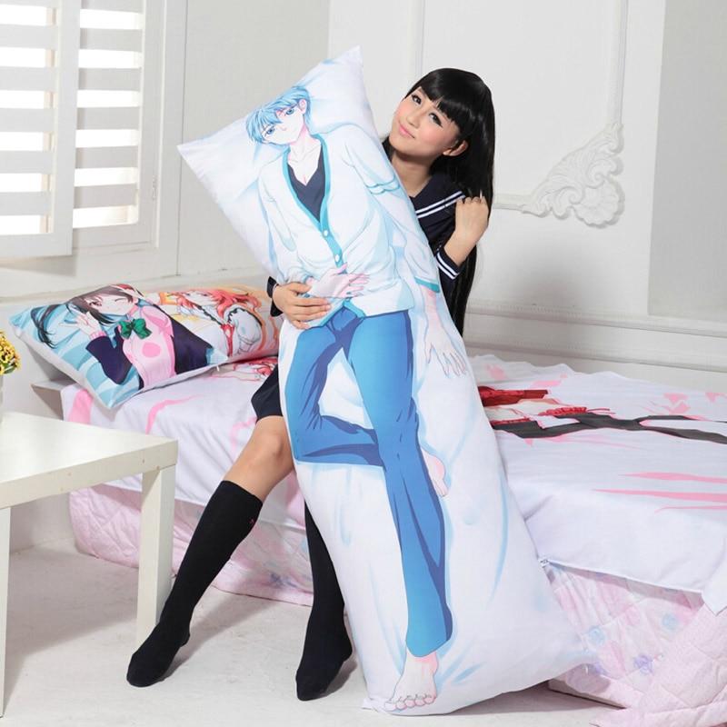 Anime Ore wo Suki Nano wa Omae Dake ka yo Dakimakura Pillow Case Hugging Body