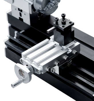 New 50mm Center Distance Enhanced Miniature Metal Lathe for hobby model wood working
