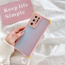 Dla Xiaomi Redmi Note 7 8 8a 9 10 Pro 8T 10X 4G 9S 9A 9C tylna pokrywa silikonowa odporna na wstrząsy matowa przezroczysta matowa obudowa na telefon tanie tanio Venus Wolf CN (pochodzenie) Częściowo przysłonięte etui Zwykły przezroczyste High quality TPU Anti-fall Phone Case