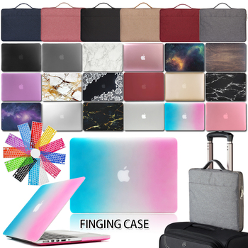 Print Laptop Case for Macbook Air 11/13/PRO 13/15/RETINA 13/15/Macbook White A1342/12/NEW AIR 13 Inch Laptop Case+keyboard+Bag huevm leather sleeve bag stand cover for apple macbook air retina 11 12 13 15 laptop case for new pro 13 3 inch air 13 3 inch