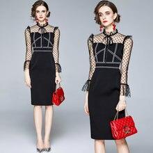 Zuoman женское элегантное платье карандаш festa высокого качества