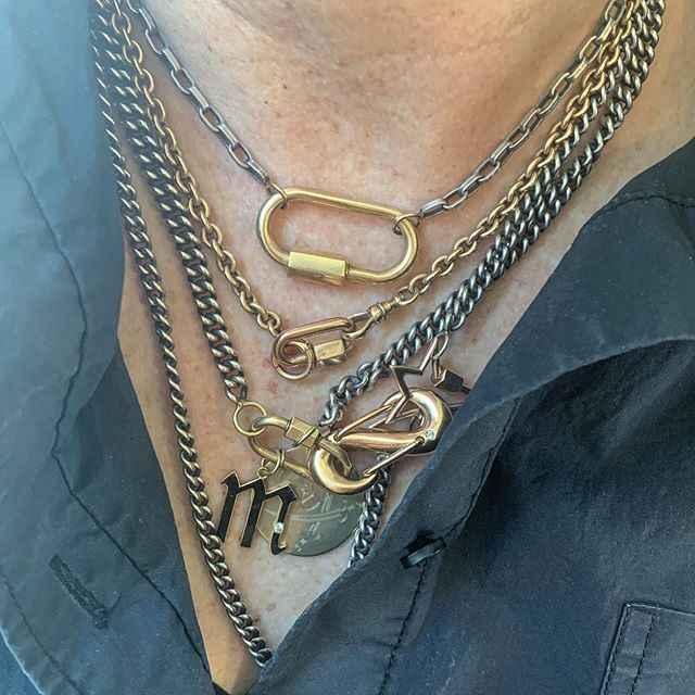 Mulheres emo witcfashion gótico bijuteria elo da cadeia cubano collares de moda 2019 joyeria neckless colar frisada pérola fecho de bloqueio