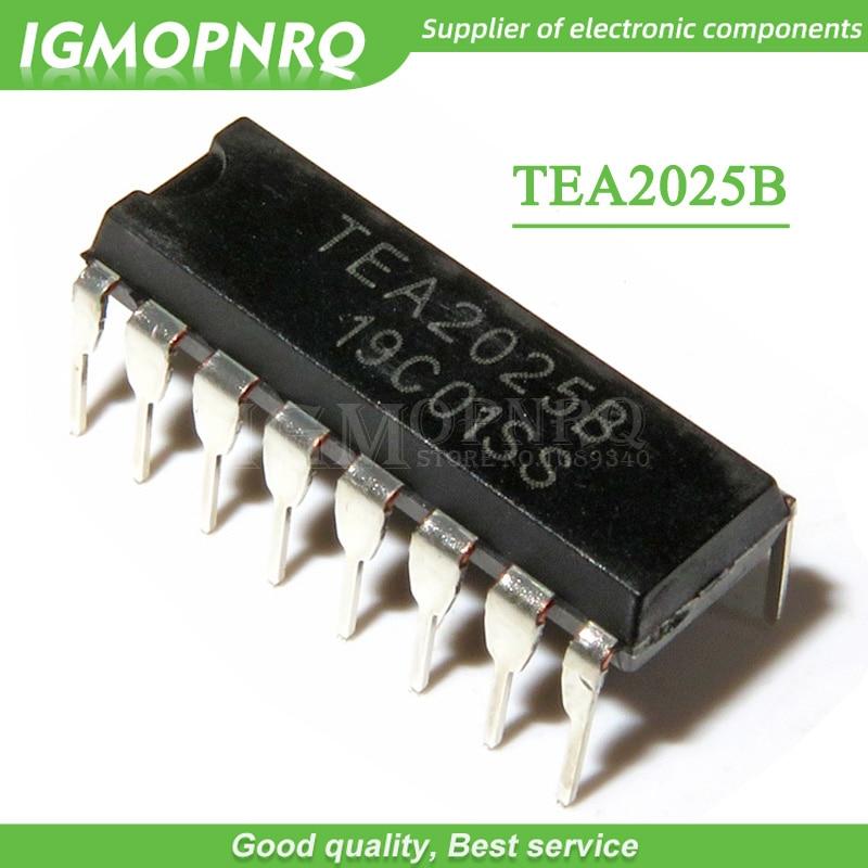 2Pcs TEA2025B Audio Power Amplifier Integrated Circuit 9-12V DIP-16