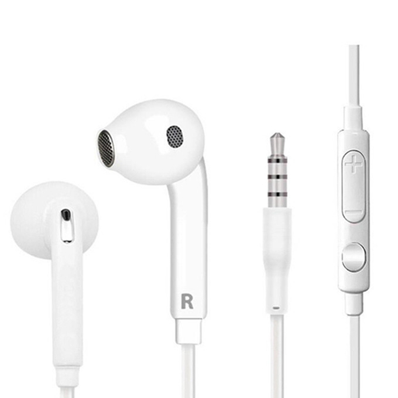Universal 3.5mm In-Ear Earphone For Samsung S6 Wire-controlled Microphone Headphones And Android Mobile Phone Headphones
