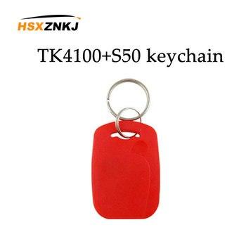 10/çok salt okunur etiketi NFC anahtar çok frekanslı RFID 125khz Em4100 Tk4100 çip + 13.56mhz frekans Ic S50 erişim kartı